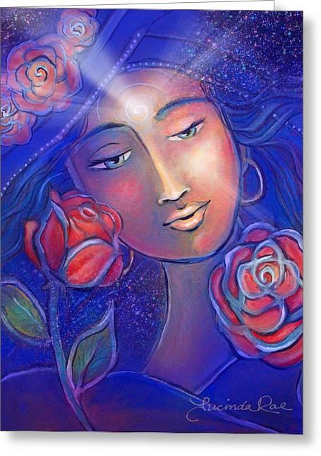 Soul Art Goddess Greeting Card