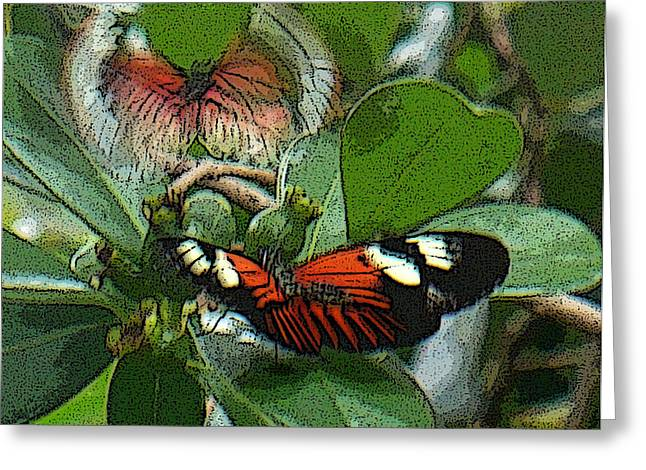 Soul From My Wings Greeting Card by Kryztina Spence