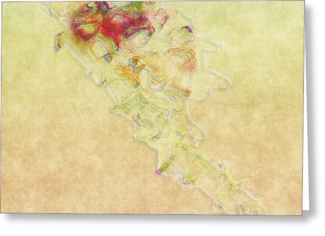 Soul In Flight Greeting Card by RC DeWinter
