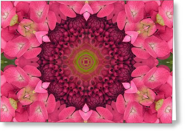 Soul Sister Mandala Greeting Card