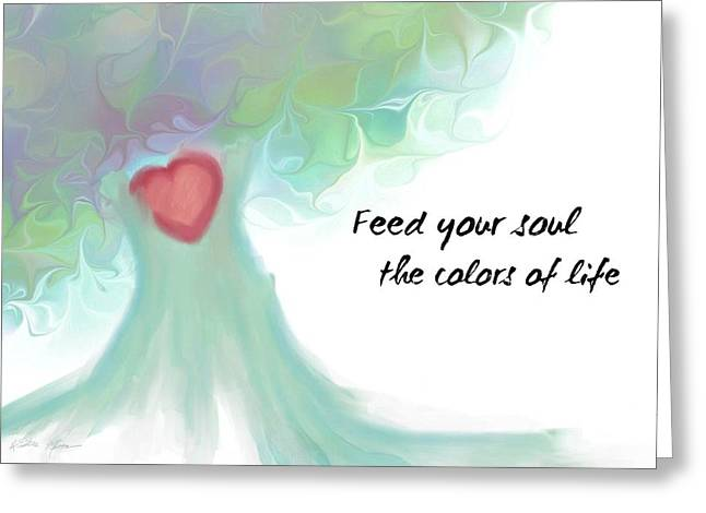 Soul Tree  Greeting Card