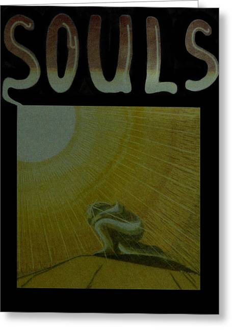 Souls Greeting Card