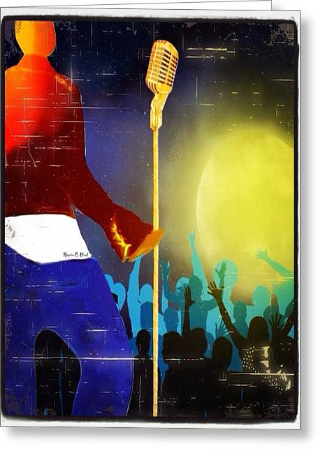 Soulsinger Greeting Card by Romaine Head