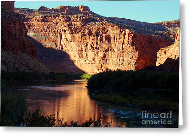 Source Of Colorado River Greeting Card by Eva Kato