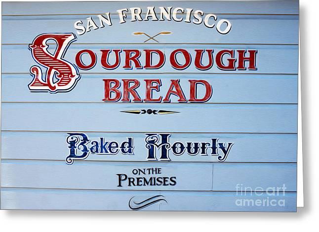 Sourdough Bread Greeting Card