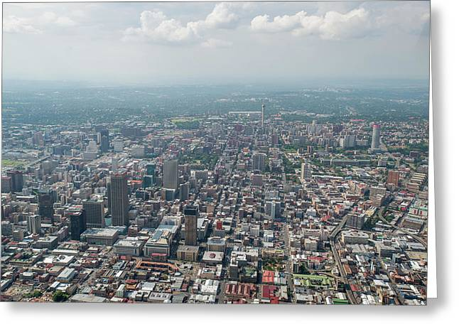 South Africa- Aerial View Greeting Card by Edwin Remsberg