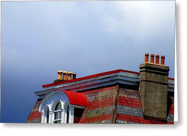 South Battery Rooftop Greeting Card