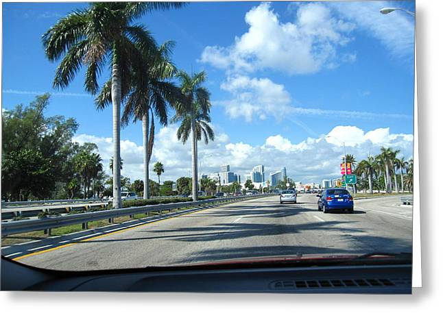 South Beach - 121220 Greeting Card by DC Photographer