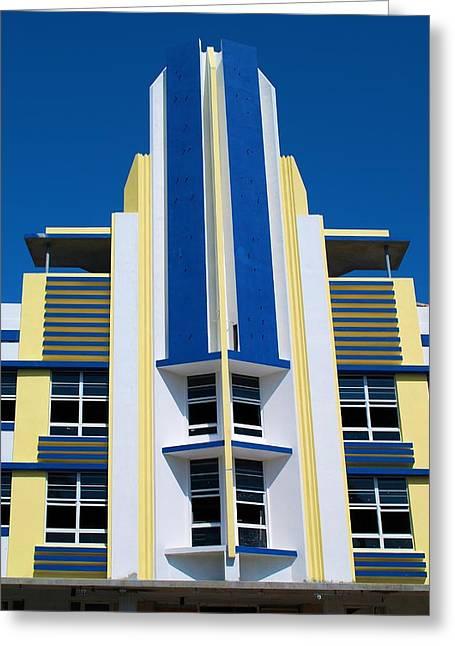 South Beach 2 Greeting Card by Ricardo J Ruiz de Porras
