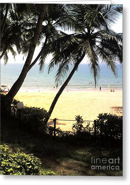 South Beach Greeting Card