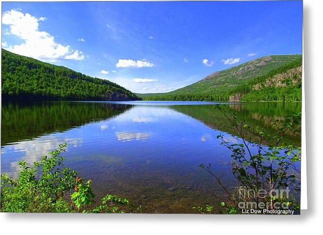 South Branch Pond Greeting Card