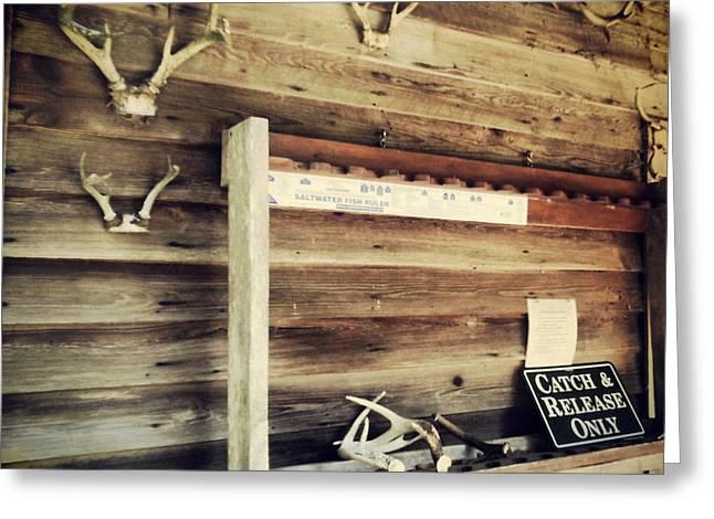 South Carolina Hunting Cabin Greeting Card