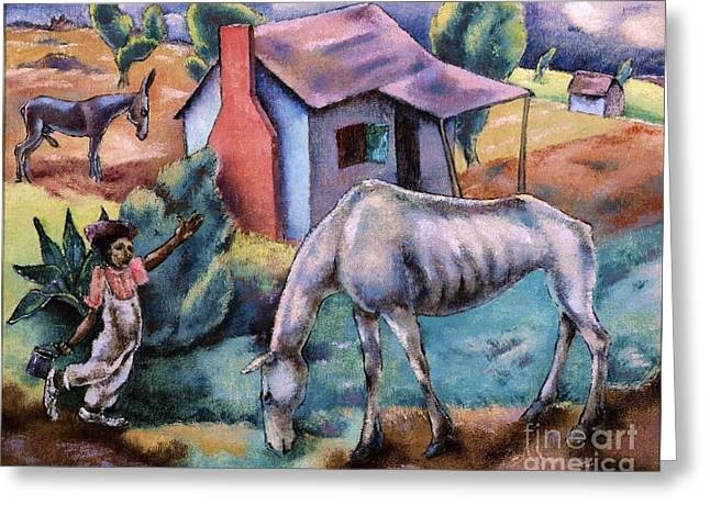 South Carolina Landscape Greeting Card by Pg Reproductions