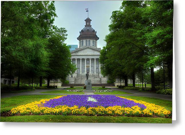 South Carolina State House Greeting Card by Michael Eingle