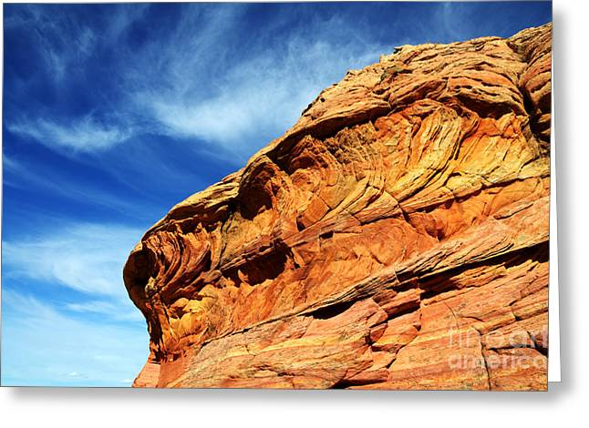 South Coyote Buttes 6 Greeting Card by Bob Christopher