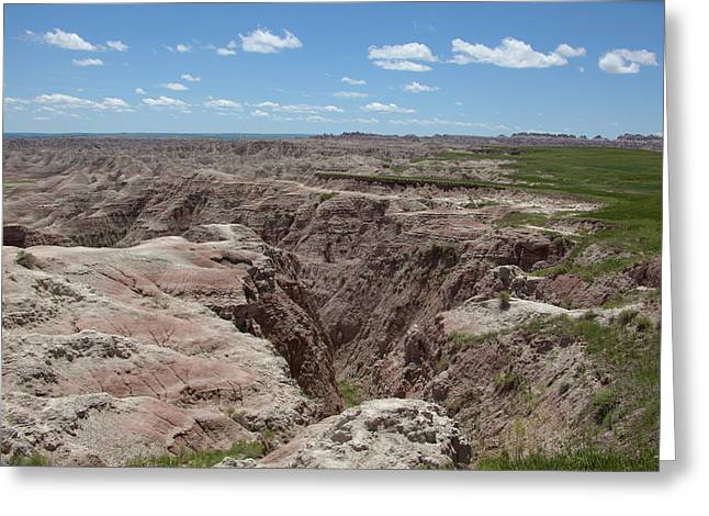 South Dakota Badlands Greeting Card