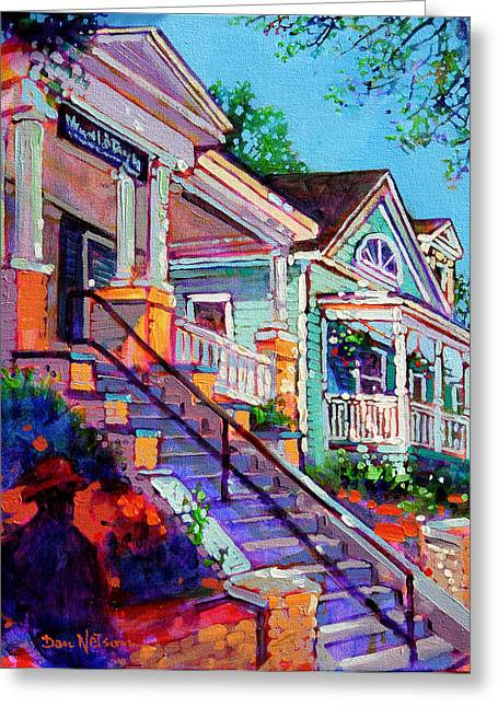 South Glenwood Stairs Greeting Card
