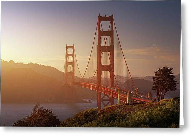South Golden Gate. Greeting Card