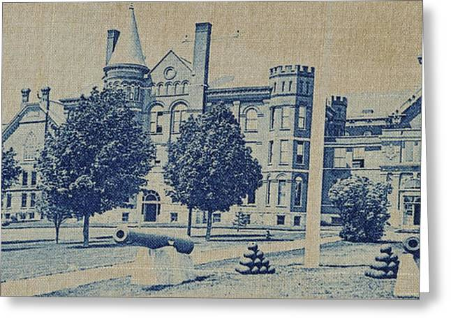 South Hall, Administration Building And North Hall Greeting Card