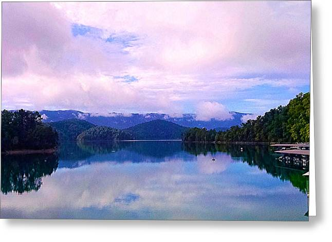 South Holston Lake Tn Greeting Card