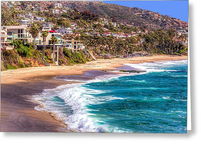 South Laguna Beach Coast Greeting Card