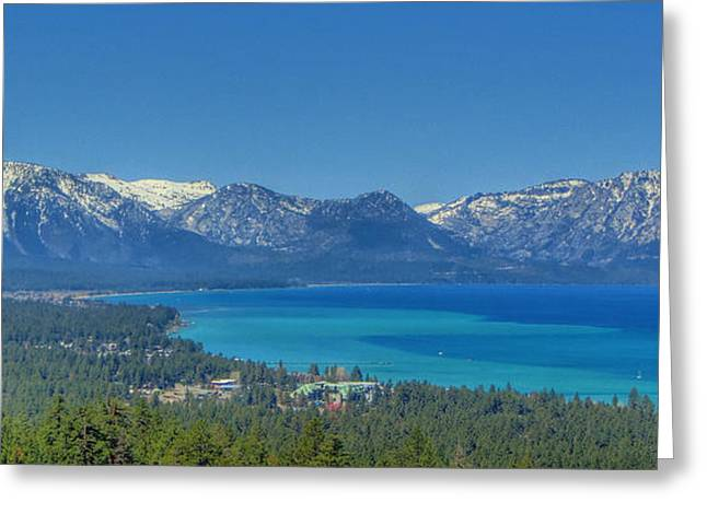 South Lake Tahoe View Greeting Card by Brad Scott