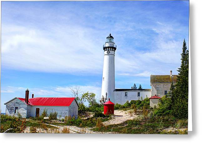 South Manitou Island Greeting Card by Bruce Wilbur