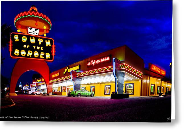 South Of The Border Greeting Card