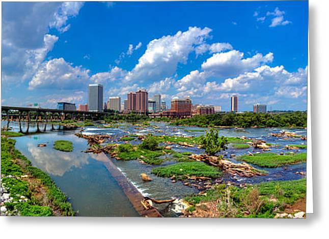 South Of The Rivah Greeting Card by Tim Wilson