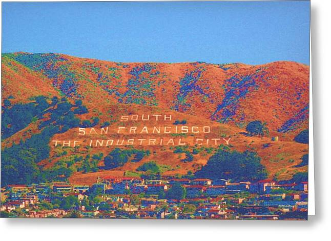 Greeting Card featuring the photograph South San Francisco by Cynthia Marcopulos