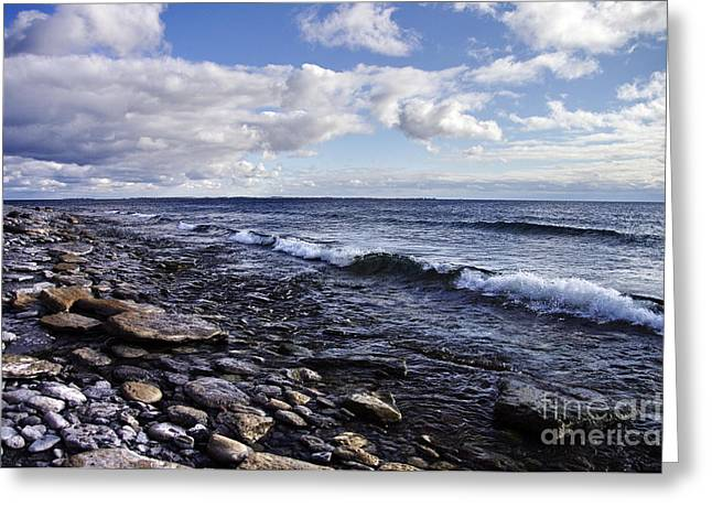 South Shore Amherst Island Greeting Card