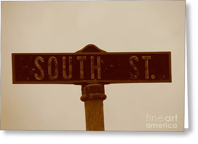 South Street Greeting Card
