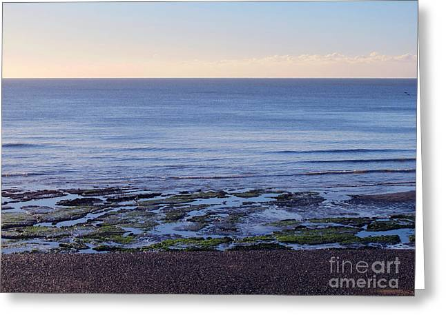 South Uk Seaside Greeting Card by Art Photography