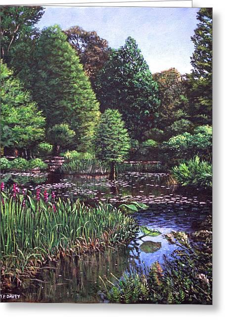 Southampton Hillier Gardens Greeting Card