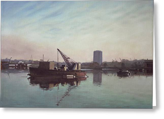 Southampton Northam River Itchen Greeting Card