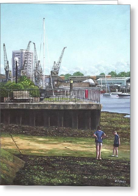 Southampton River Itchen Chapel Tredegar Wharf Greeting Card
