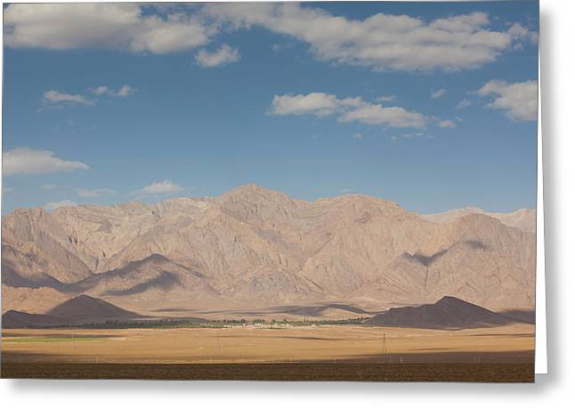 Southeastern Iran, Rayen, Mountains Greeting Card