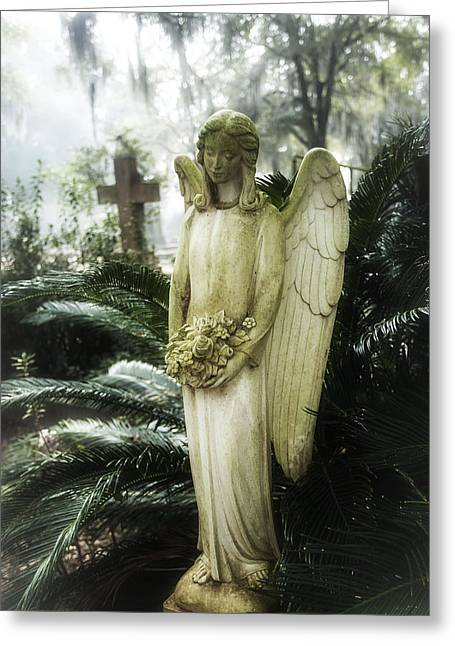 Southern Angel IIi Greeting Card