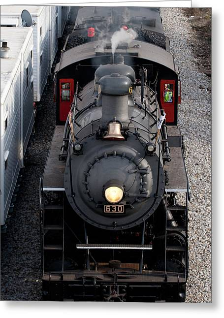 Southern Railway #630 Steam Engine Greeting Card