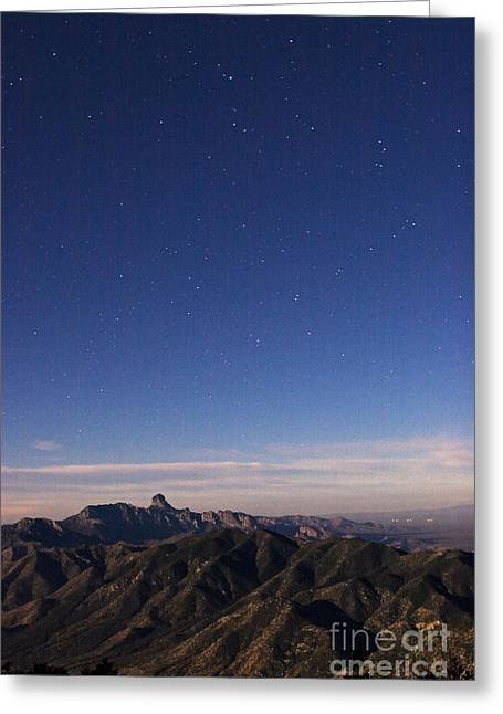Southern View From Kitt Peak Greeting Card
