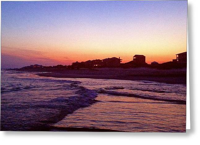 Southern Waters I Greeting Card
