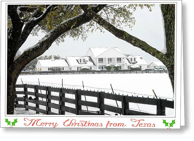 Southfork Christmas Greeting Card by Dyle   Warren