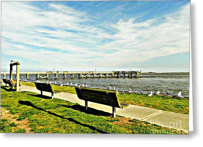 Southport Waterfront Greeting Card