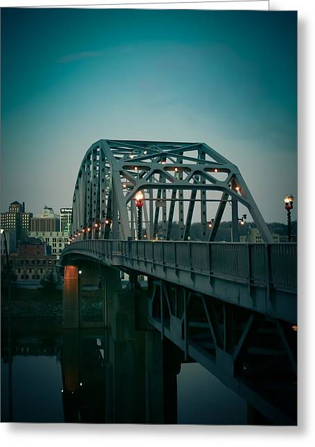 Southside Bridge  Greeting Card