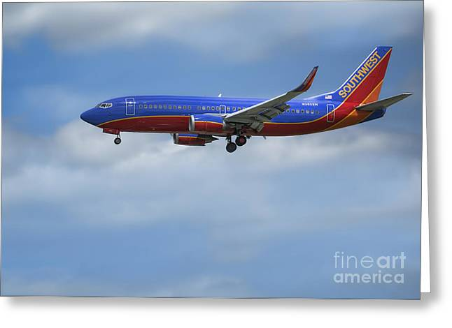 Southwest Airlines Jet Greeting Card