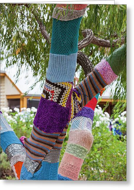 Southwest Australia, Nannup, Weaving Greeting Card