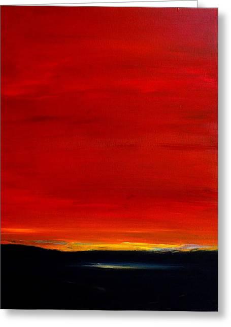 Southwest Desert Sunrise Greeting Card
