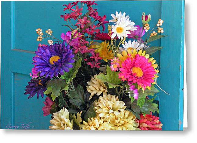 Southwest Flowers Greeting Card