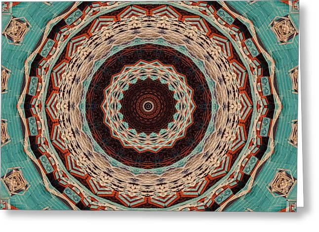 Southwest Mandala Greeting Card