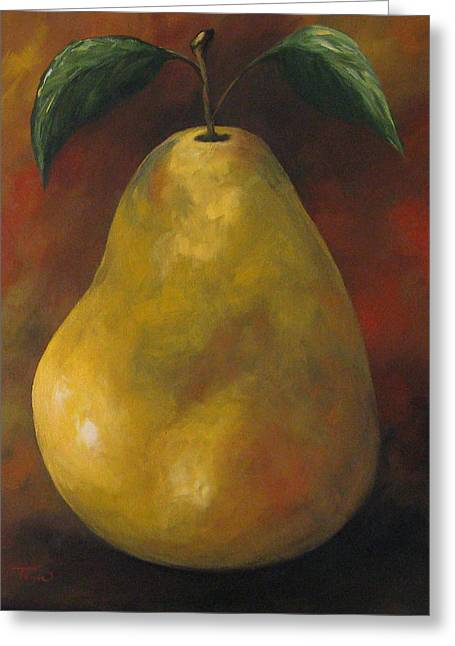 Southwest Pear II Greeting Card
